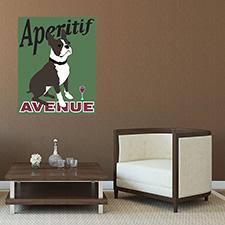 aeritif dog poster