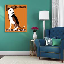 destination dog canvas